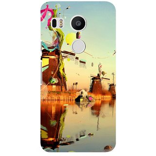 G.store Printed Back Covers for LG Google Nexus 5X Multi