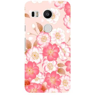 G.store Printed Back Covers for LG Google Nexus 5X Pink