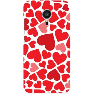 G.store Printed Back Covers for Meizu MX5 Red