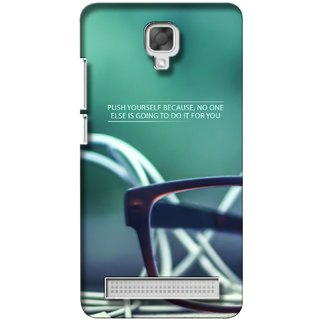 G.store Printed Back Covers for Micromax Bolt Q338 Green