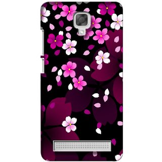 G.store Printed Back Covers for Micromax Bolt Q338 Pink