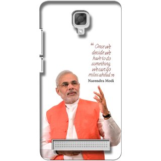 G.store Printed Back Covers for Micromax Bolt Q338 White