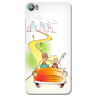 G.store Printed Back Covers for Micromax Canvas Fire 4 A107 Multi