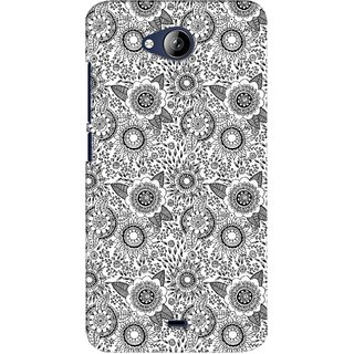 G.store Printed Back Covers for Micromax Canvas Play Q355 White