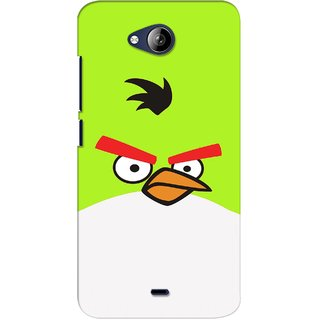 G.store Printed Back Covers for Micromax Canvas Play Q355 Green