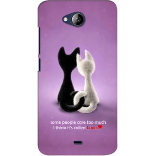 G.store Printed Back Covers for Micromax Canvas Play Q355 Purple