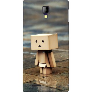 G.store Printed Back Covers for Micromax Canvas Xpress A99 Brown
