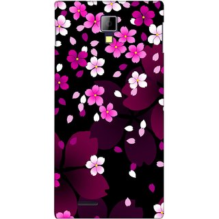 G.store Printed Back Covers for Micromax Canvas Xpress A99 Pink