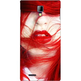 G.store Printed Back Covers for Micromax Canvas Xpress A99 Red