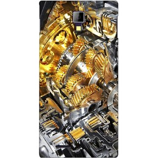 G.store Printed Back Covers for Micromax Canvas Xpress A99 Yellow
