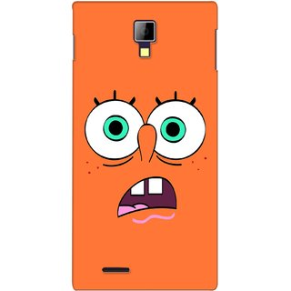 G.store Printed Back Covers for Micromax Canvas Xpress A99 Orange