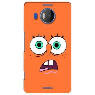 G.store Printed Back Covers for Microsoft Lumia 950 XL Orange