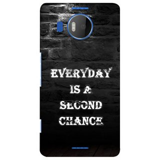 G.store Printed Back Covers for Microsoft Lumia 950 XL Black