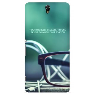 G.store Printed Back Covers for Sony Xperia C5 Ultra Green