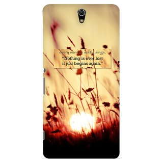 G.store Printed Back Covers for Sony Xperia C5 Ultra Brown