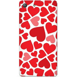 G.store Printed Back Covers for Sony Xperia M5 Red