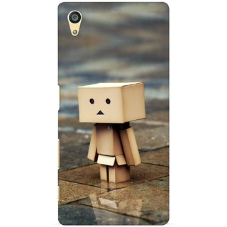 G.store Printed Back Covers for Sony Xperia Z5 Brown