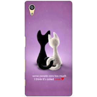 G.store Printed Back Covers for Sony Xperia Z5 Purple