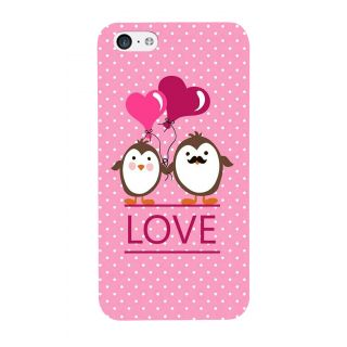 G.store Printed Back Covers for Apple iPhone 5C Pink