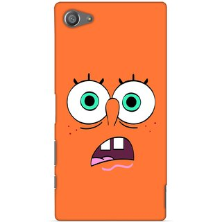 G.store Printed Back Covers for Sony Xperia Z5 Compact Orange