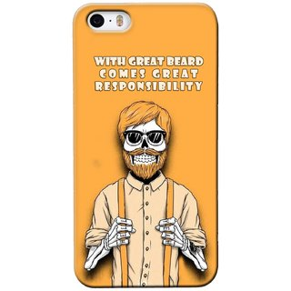 G.store Printed Back Covers for Apple iPhone 4S Yellow