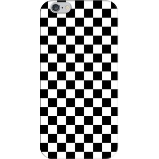 G.store Printed Back Covers for   6 Plus Black