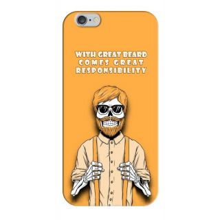 G.store Printed Back Covers for Apple iPhone 6 Plus Yellow