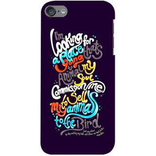 G.store Printed Back Covers for  iPod touch 6th Generation Multi