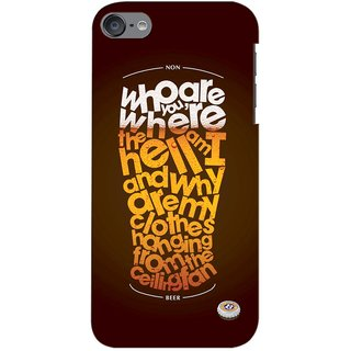 G.store Printed Back Covers for Apple iPod touch 6th Generation Multi