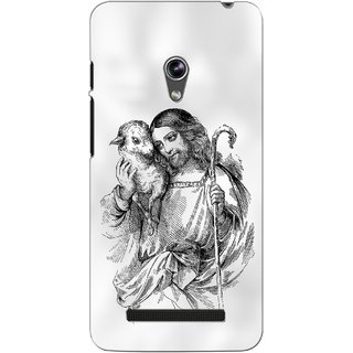 G.store Printed Back Covers for Asus Zenfone 5 White