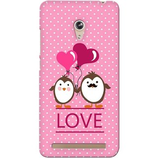 G.store Printed Back Covers for Asus Zenfone 6 Pink