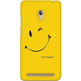 G.store Printed Back Covers for Asus Zenfone 6 Yellow