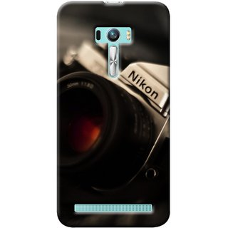 G.store Printed Back Covers for Asus Zenfone Selfie Black