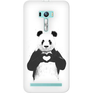 G.store Printed Back Covers for Asus Zenfone Selfie White
