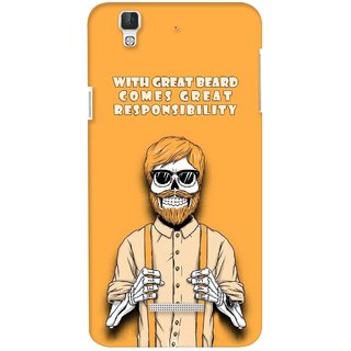 G.store Printed Back Covers for Coolpad Dazen F2 Yellow