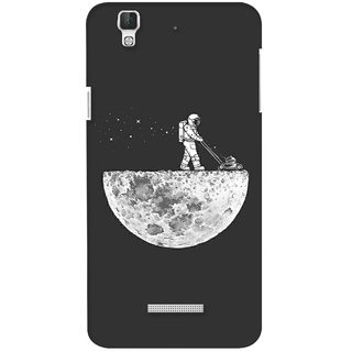 G.store Printed Back Covers for Coolpad Dazen F2 Grey