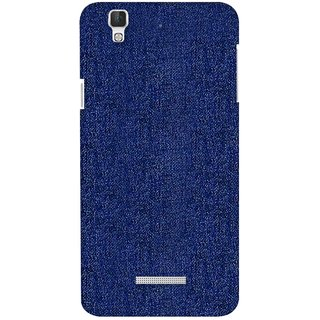G.store Printed Back Covers for Coolpad Dazen F2 blue
