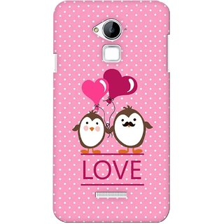 G.store Printed Back Covers for Coolpad Dazen Note 3 Pink