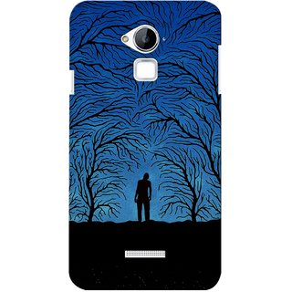 G.store Printed Back Covers for Coolpad Dazen Note 3 Blue