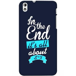 G.store Printed Back Covers for Htc Desire 816 Blue