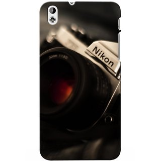 G.store Printed Back Covers for Htc Desire 816 Black