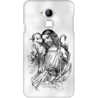 G.store Printed Back Covers for Coolpad Dazen Note 3 White