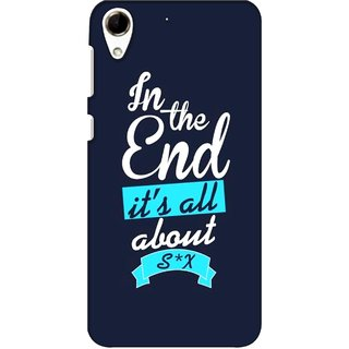 G.store Printed Back Covers for HTC Desire 728 Blue