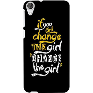 G.store Printed Back Covers for Htc Desire 820 Black