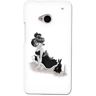G.store Printed Back Covers for HTC ONE M7 White