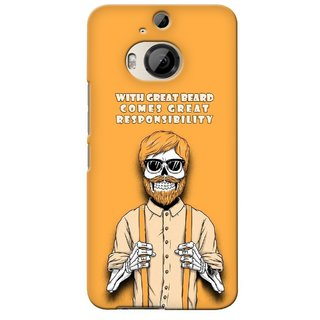 G.store Printed Back Covers for HTC ONE M9 Plus Yellow