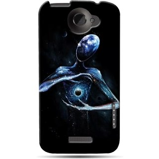 G.store Printed Back Covers for HTC One X Plus Black