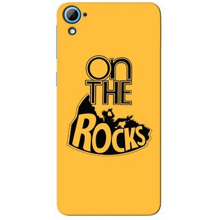 G.store Printed Back Covers for HTC Desire 826 Yellow