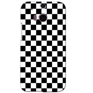 G.store Printed Back Covers for HTC ONE M8 Black