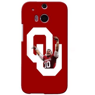 G.store Printed Back Covers for HTC ONE M8 Red